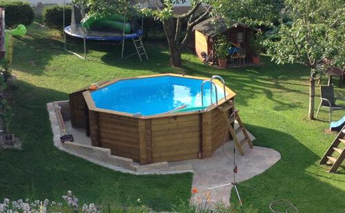 Деревянный бассейн BWT Tropic 414 - изображение 3