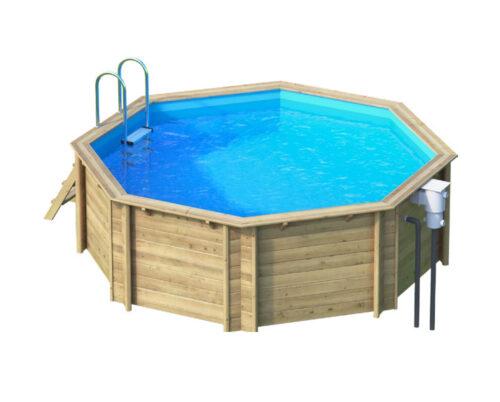 Деревянный бассейн BWT Tropic 414 - изображение 2