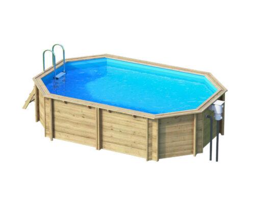 Деревянный бассейн BWT Tropic +640 - изображение 2