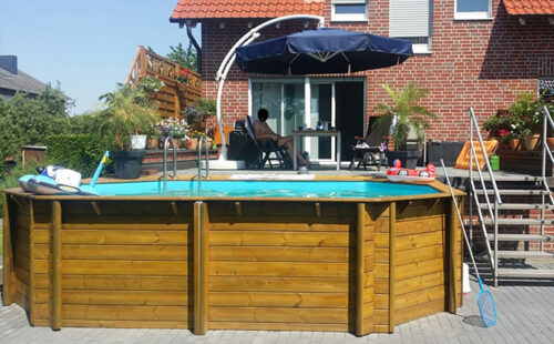 Деревянный бассейн BWT Tropic +640 - изображение 3