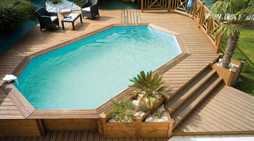 Деревянный бассейн BWT Weva +840