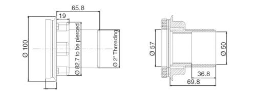 Возвратная форсунка RL-311, для лайнера - изображение 3