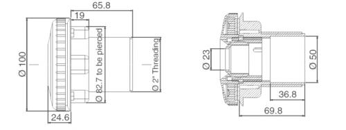 Возвратная форсунка RL-315 с поворотным соплом - изображение 3