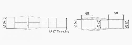 Стеновой проход 250 мм - изображение 3