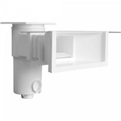 Зеркальный скиммер BWT, модель SL-119-MR, широкая горловина, с удлинением, для лайнера