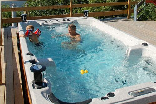 Плавательный СПА бассейн Catalina SWIMSPA - изображение 2