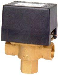 Электрический вентиль трехпозиционный 1″ нар.