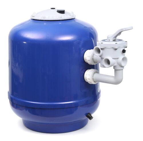 Песочный фильтр в комплекте с боковым клапаном 2″ Ø 1200 — 48″
