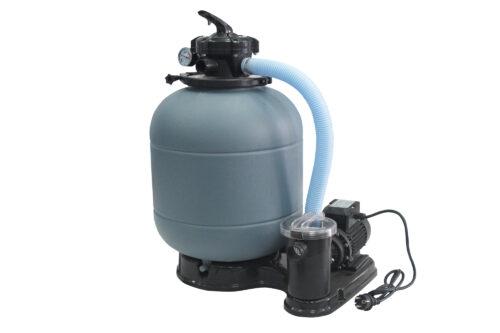 Фильтрационная система Samoa D.300 + 1,25″верхний 5-ти ходовой клапан + насос FIJI  4м³/час