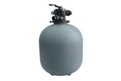 Фильтр D.500 1,5″ верхний 6-ти ходовой клапан без подставки для фильтра
