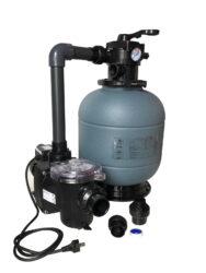 Комплект фильтра D400 производительностью 6 м³/ч с насосом FREEFLO, 0.37 кВт (с подставкой)