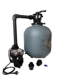 Комплект фильтра D500 производительностью 9 м3 / ч с насосом FREEFLO, 0.55 кВт, (без подставки)
