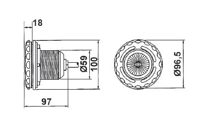 Галогенный прожектор VА 50 Вт/12 В - изображение 2