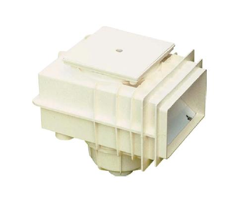Скиммер MTS V20, 200 x 150 мм, под бетон