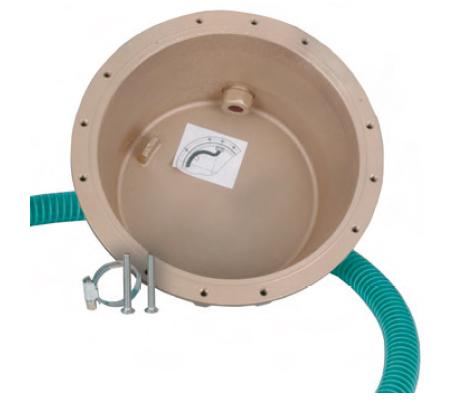 Закладная для прожектора  4130020, светодиодных прожекторов Ø-270 мм (4 цвета/28 диодов;  4 цвета/16 диодов), бронза
