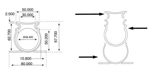 Соединение дренажного желоба - изображение 3