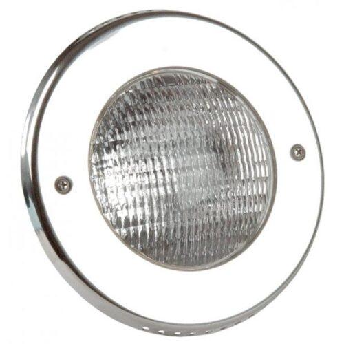 Лицевая панель прожектора  300 Вт/12 В (PAR 56), 2.5м кабеля 2х6мм2., нерж.сталь