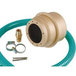 Закладная для прожекторов, Ø- 110 мм (4 цвета/4 диода), бронза