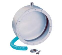 Закладная для прожектора Ø-270 мм (4 цвета/28 диодов;  4 цвета/16 диодов), нерж.сталь