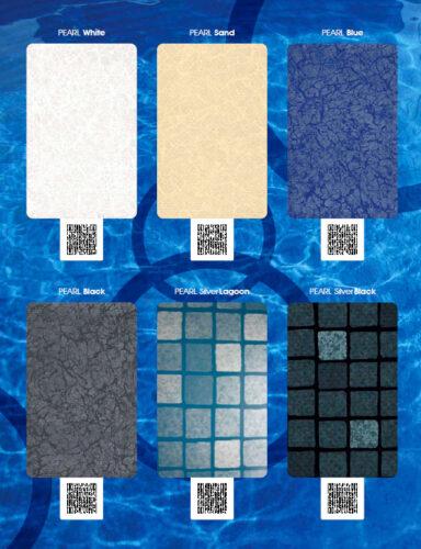 Пленка ПВХ для отделки бассейна серия PEARL - изображение 3