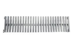 Решетка переливного лотка, AQA нерж.сталь, высота 22 мм, ширина 150 / 195 / 245 / 295