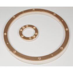 Фланцевый комплект донного гейзера Fitstar (2 фланца: плато + пневмокнопка)