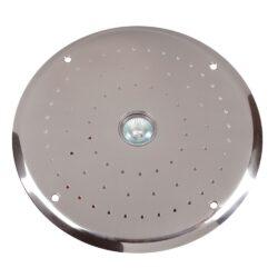 Окончательный комплект донного гейзера Fitstar ( лицевые панели плато и пневмокнопки исполнение нерж.сталь точечная подстветка (50Вт) + компрессор 1,1 кВт + обратный клапан + пускатель компрессора)