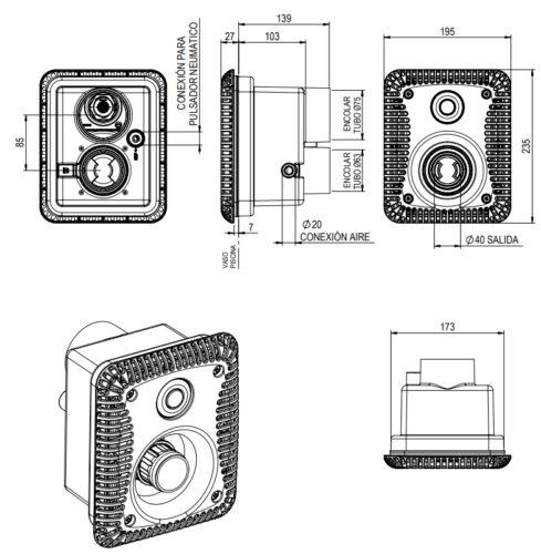 Лицевая панель противотечения Marin XS - изображение 2