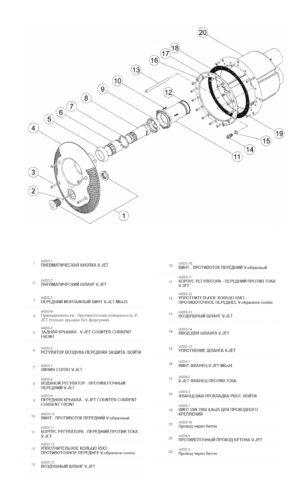 Лицевая панель противотечения V-Jet - изображение 2