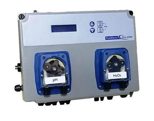Измерительно-дозирующая станция Pool basic pH/Ox —  с перистальтическими насосами, 1,5 л/ч