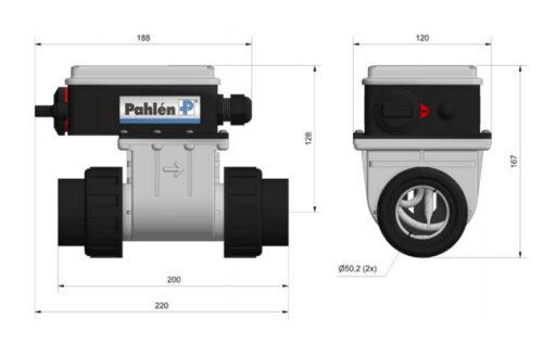 Электроводонагреватель SPA Pahlen 1.5 / 2.0 / 3.0 кВт пластиковый с реле протока и термостатом - изображение 2