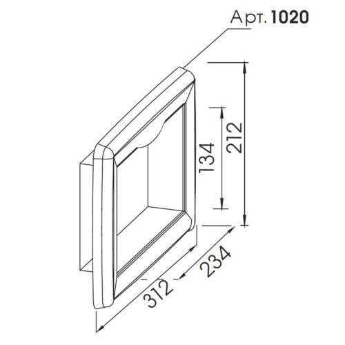 Лицевая панель скиммера V20 - изображение 2
