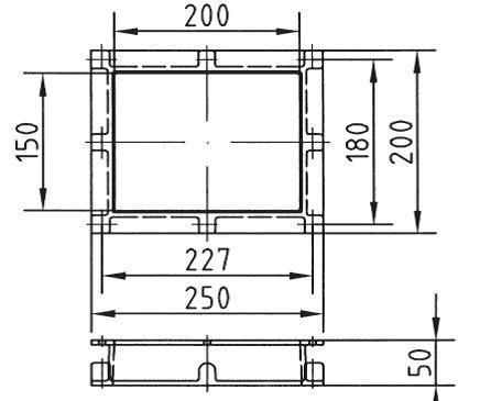Горизонтальный удлиннитель 50 мм для скиммеров AllFit - изображение 2