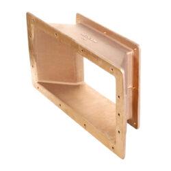 Горизонтальный удлиннитель 100 мм для скиммеров AllFit, с увеличением ширины забра воды 350 мм
