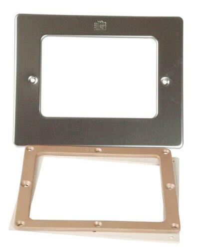 Фланцевый комплект  + лицевая панель для скиммеров AllFit, под пленку