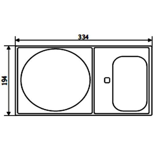 Верхняя крышка двойная для скиммеров AllFit и контроля уровня воды 1620020 - изображение 2