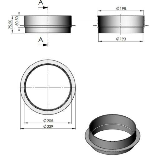 Вертикальный удлиннитель скиммера Astral - изображение 2