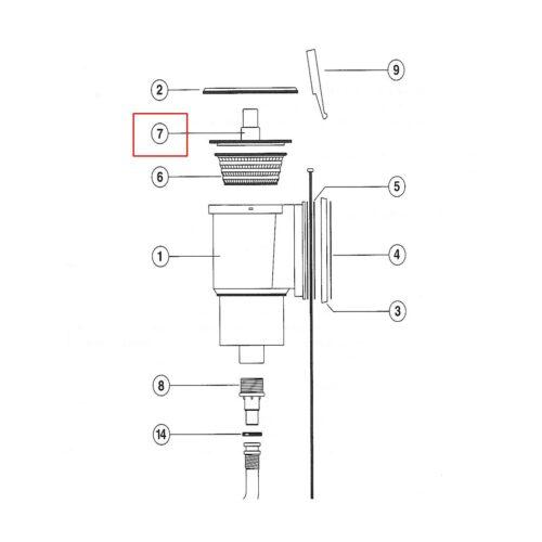 Скимвак для скиммера VA 150 х 150 - изображение 2