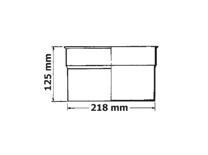 Вертикальный удлиннитель скиммера Hayward - изображение 2