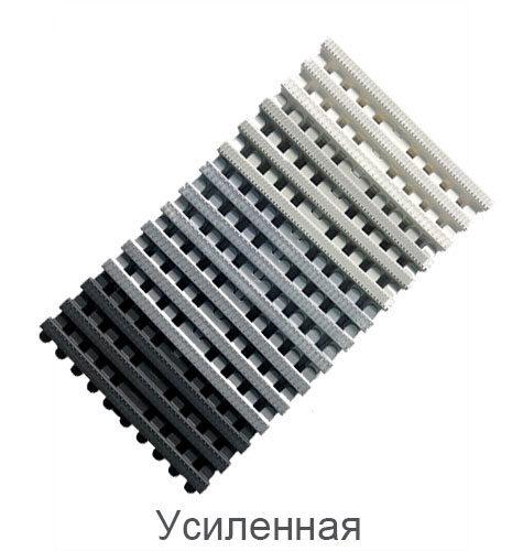 Решетка переливного лотка усиленная, VAGNER, Color GW 2035 | 2535,  высота 34 мм, ширина 194 / 244 мм