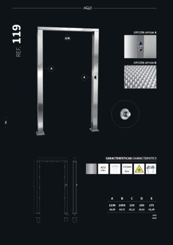 Душевая стойка 119 - изображение 2