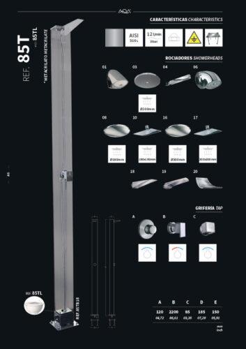 Душевая стойка 85T - изображение 2