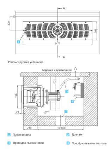 Устройство противотечения  BADUJET Turbo Pro, Design 2 - изображение 2