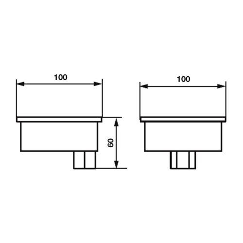Соединительная коробка Pahlen нерж.сталь - изображение 2
