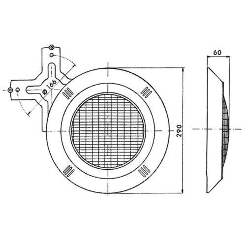 Навесной прожектор VА 100 Вт/12В - изображение 2