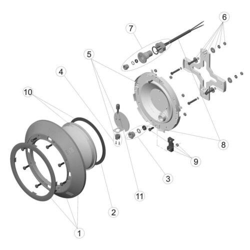 Навесной прожектор VА 100 Вт/12В - изображение 3