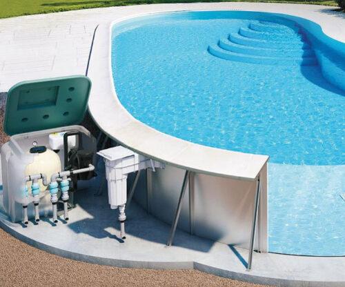 Металлический модульный быстросборный бассейн - изображение 2