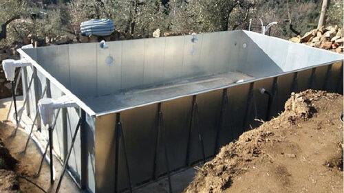 Металлический модульный быстросборный бассейн - изображение 4