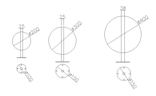Фонтан шар из нержавеющей стали - изображение 2