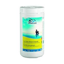 Oxi Clor shock гранулят — быстрорастворимое средство для интенсивной обработки воды в бассейнах